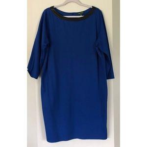 Ralph Lauren Blue Shift Dress